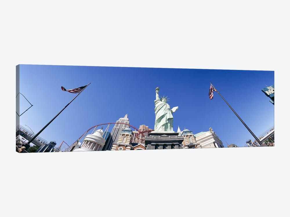 Low angle view of a statue, Replica Statue Of Liberty, Las Vegas, Clark County, Nevada, USA by Panoramic Images 1-piece Canvas Artwork