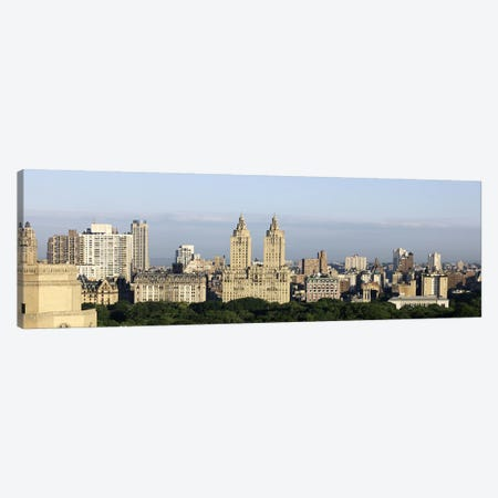 High-Angle View Of Architecture Along Central Park West, Upper West Side, Manhattan, New York City, New York, USA Canvas Print #PIM6649} by Panoramic Images Canvas Wall Art