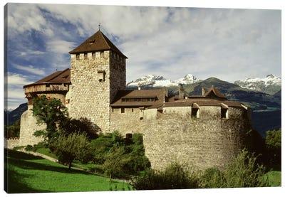 The Castle in Vaduz Lichtenstein Canvas Art Print