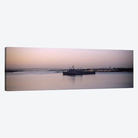 Coronado Bridge, San Diego, California, USA Canvas Print #PIM6650} by Panoramic Images Art Print