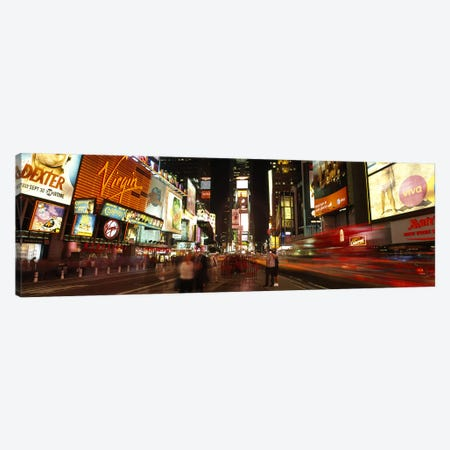 Buildings in a cityBroadway, Times Square, Midtown Manhattan, Manhattan, New York City, New York State, USA Canvas Print #PIM6693} by Panoramic Images Canvas Print