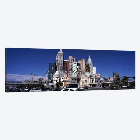 Buildings in a cityNew York New York Hotel, The Las Vegas Strip, Las Vegas, Nevada, USA Canvas Print #PIM6698} by Panoramic Images Canvas Art Print