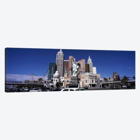 Buildings in a cityNew York New York Hotel, The Las Vegas Strip, Las Vegas, Nevada, USA Canvas Print #PIM6698} by Panoramic Images Canvas Art Print