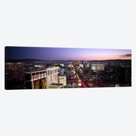 Aerial view of a cityParis Las Vegas, The Las Vegas Strip, Las Vegas, Nevada, USA Canvas Print #PIM6701} by Panoramic Images Art Print