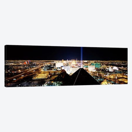 High angle view of a city from Mandalay Bay Resort and Casino, Las Vegas, Clark County, Nevada, USA Canvas Print #PIM6703} by Panoramic Images Canvas Print