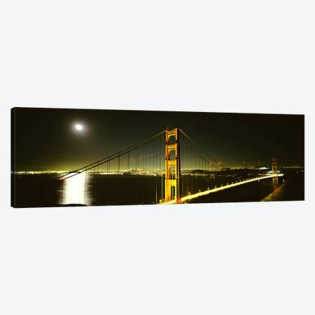 Suspension bridge across the sea, Golden Gate Bridge, San Francisco, California, USA #4 Canvas Print #PIM6708} by Panoramic Images Canvas Art Print