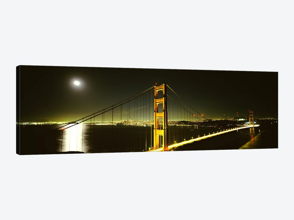 Suspension bridge across the sea, Golden Gate Bridge, San Francisco, California, USA #4 by Panoramic Images 1-piece Canvas Art Print