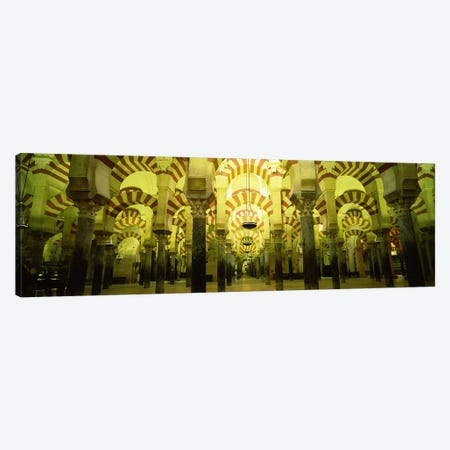 Interiors of a cathedral, La Mezquita Cathedral, Cordoba, Cordoba Province, Spain Canvas Print #PIM6714} by Panoramic Images Art Print