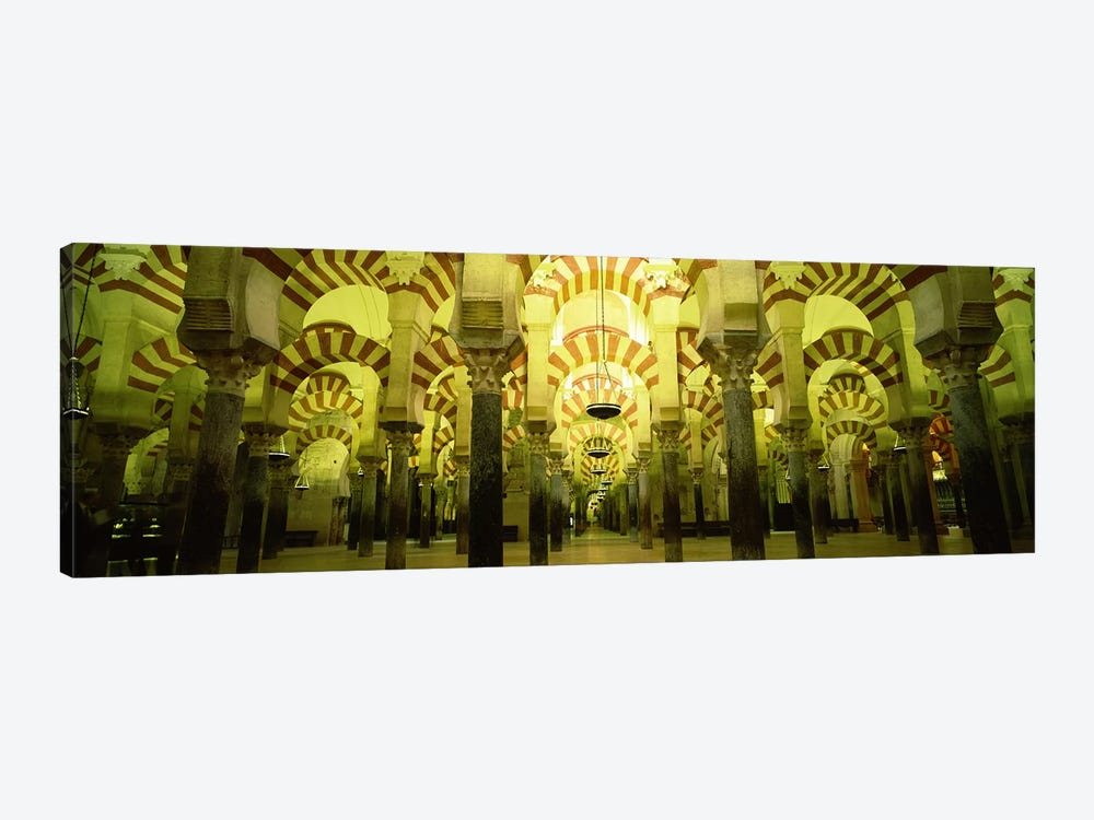 Interiors of a cathedral, La Mezquita Cathedral, Cordoba, Cordoba Province, Spain by Panoramic Images 1-piece Canvas Artwork