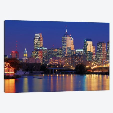 Philadelphia, Pennsylvania Canvas Print #PIM6715} by Panoramic Images Canvas Art Print