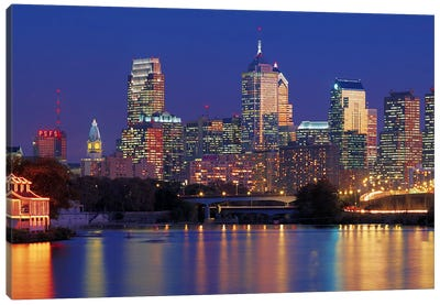 Philadelphia, Pennsylvania Canvas Art Print