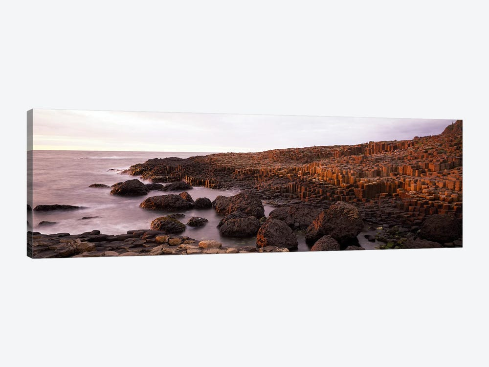 Basalt columns of Giant's Causeway, Antrim Coast, Northern Ireland. by Panoramic Images 1-piece Art Print