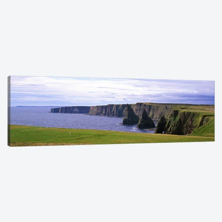 Duncansby Stacks, Duncansby Head, County Wick, Republic, Ireland Canvas Print #PIM6732} by Panoramic Images Canvas Wall Art
