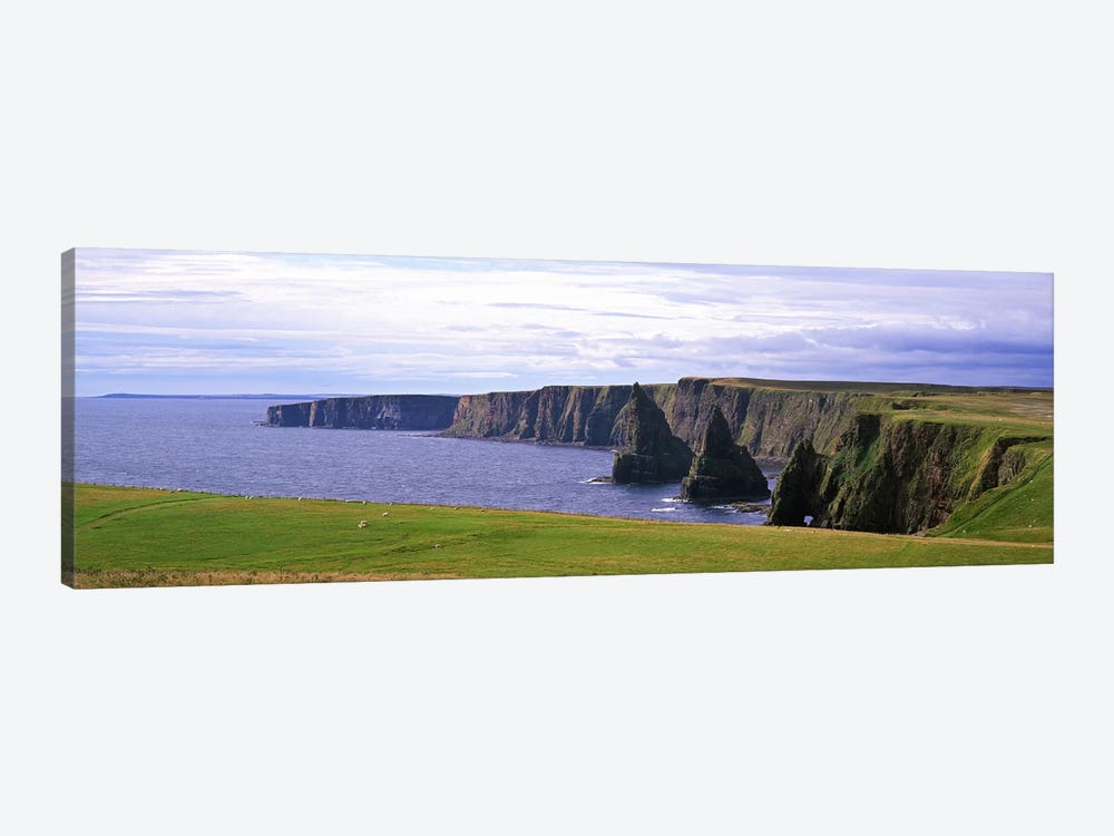 Duncansby Stacks, Duncansby Head, County Wick, Republic, Ireland by Panoramic Images 1-piece Canvas Artwork