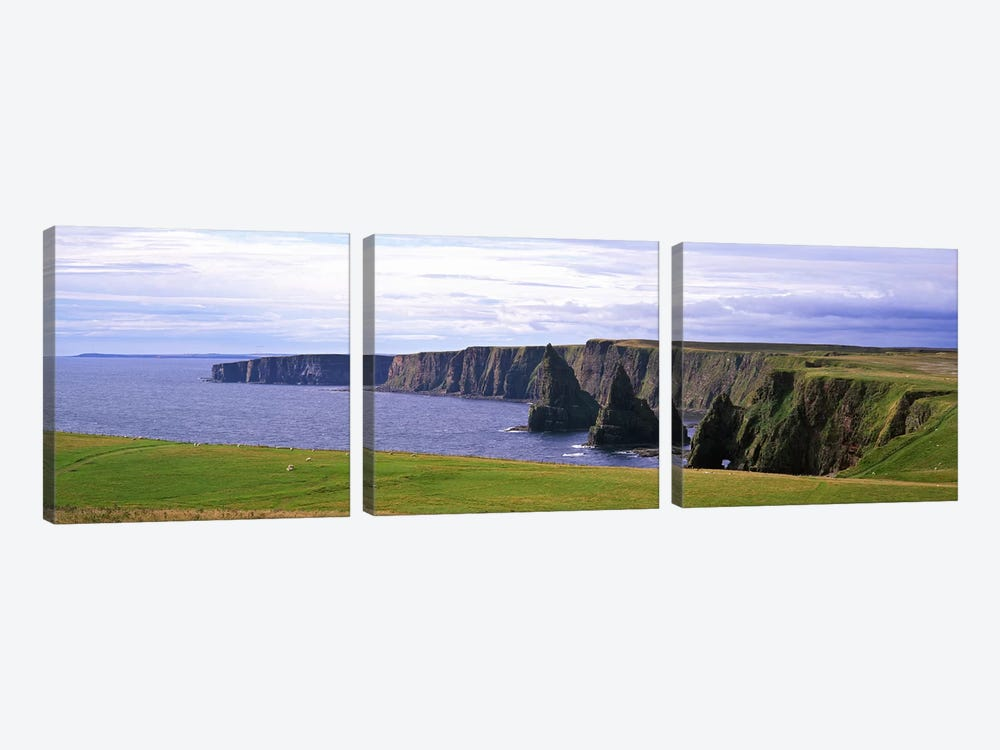 Duncansby Stacks, Duncansby Head, County Wick, Republic, Ireland by Panoramic Images 3-piece Canvas Wall Art