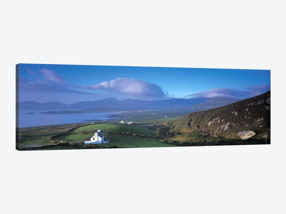 Distant View Of Allihies, County Cork, Munster Province, Republic Of Ireland 1-piece Canvas Art