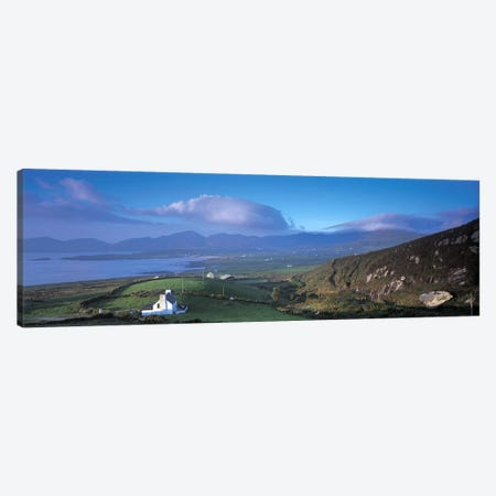 Distant View Of Allihies, County Cork, Munster Province, Republic Of Ireland Canvas Print #PIM6761} by Panoramic Images Canvas Art Print