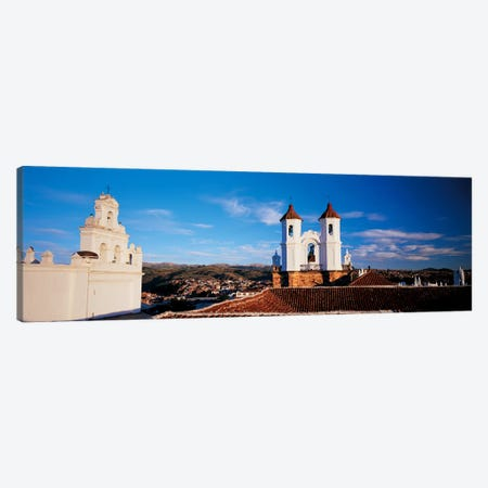High angle view of a city, San Felipe Neri convent, Church Of La Merced, Sucre, Bolivia Canvas Print #PIM6774} by Panoramic Images Canvas Print