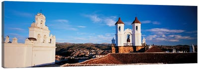 High angle view of a city, San Felipe Neri convent, Church Of La Merced, Sucre, Bolivia Canvas Print #PIM6774