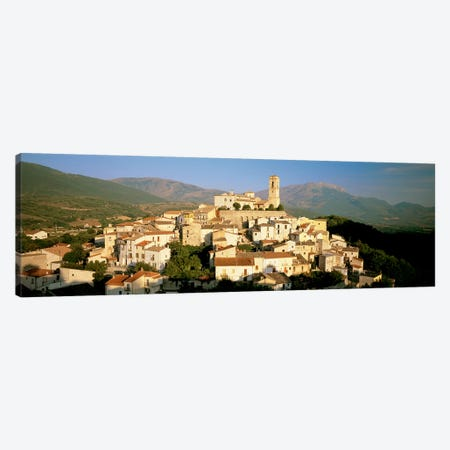 Goriano Sicoli, L'Aquila Province, Abruzzo, Italy Canvas Print #PIM6780} by Panoramic Images Canvas Art Print