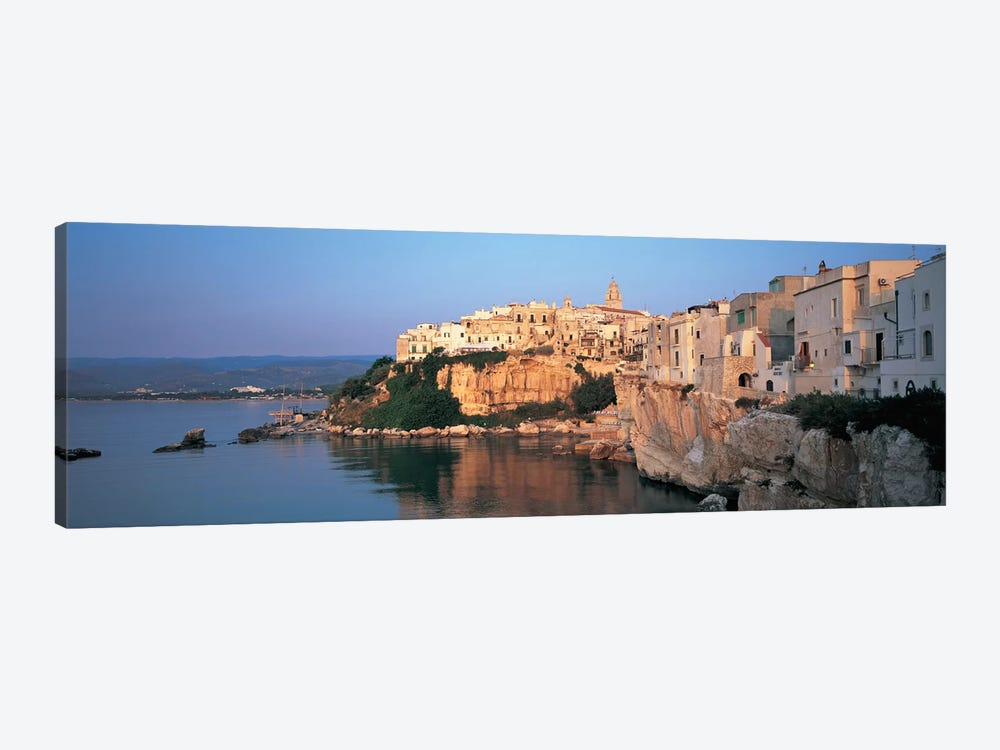 Coastal Landscape, Vieste, Foggia Province, Gargano Sub-Region, Apulia, Italy by Panoramic Images 1-piece Canvas Wall Art