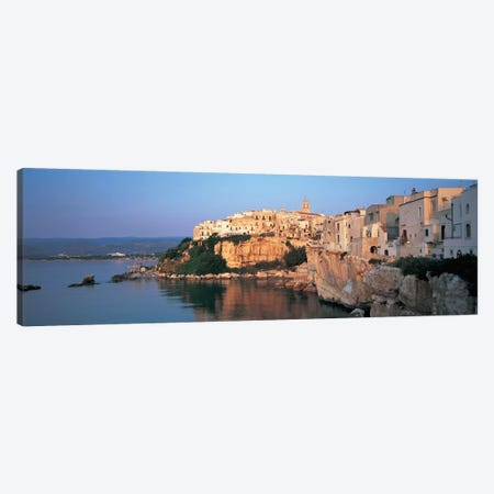 Coastal Landscape, Vieste, Foggia Province, Gargano Sub-Region, Apulia, Italy Canvas Print #PIM6781} by Panoramic Images Art Print