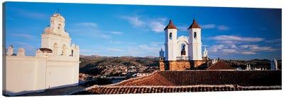 High angle view of a city, San Felipe Neri convent, Church Of La Merced, Sucre, Bolivia #2 Canvas Print #PIM6796