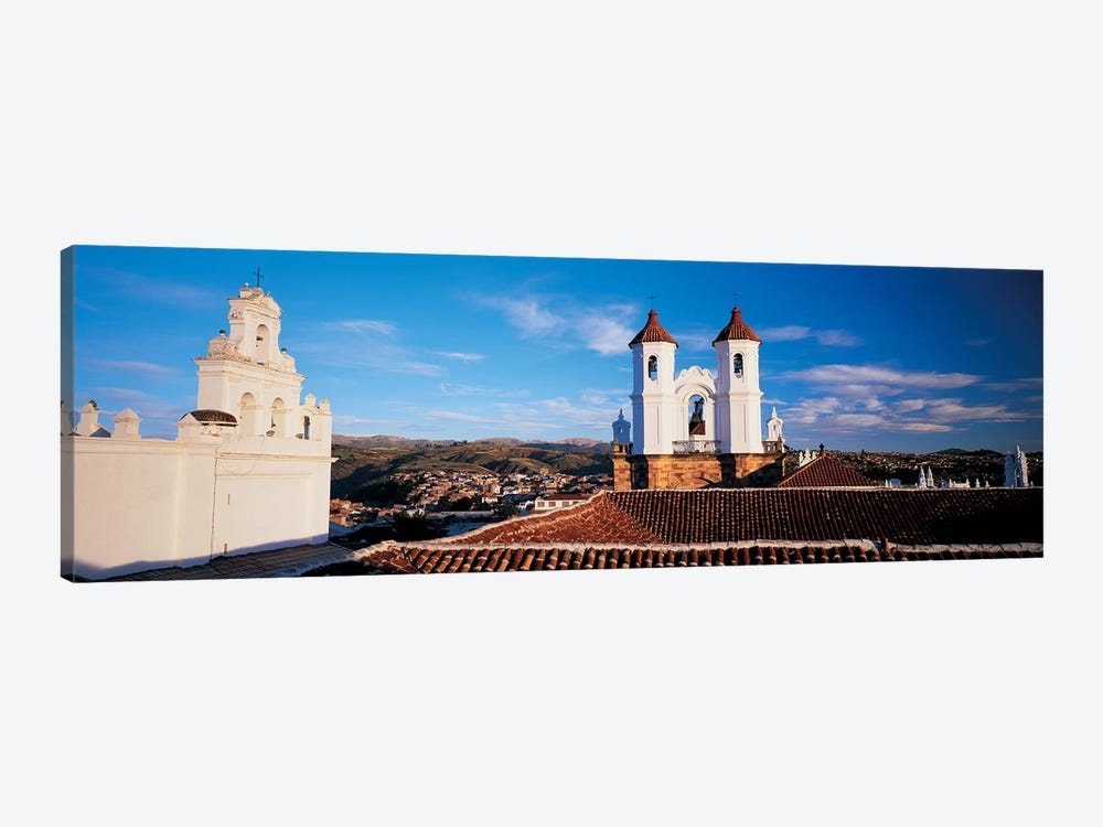 High angle view of a city, San Felipe Neri convent, Church Of La Merced, Sucre, Bolivia #2 by Panoramic Images 1-piece Canvas Wall Art