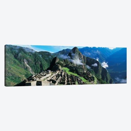 Machu Picchu, Cuzco Region, Peru Canvas Print #PIM6797} by Panoramic Images Canvas Print