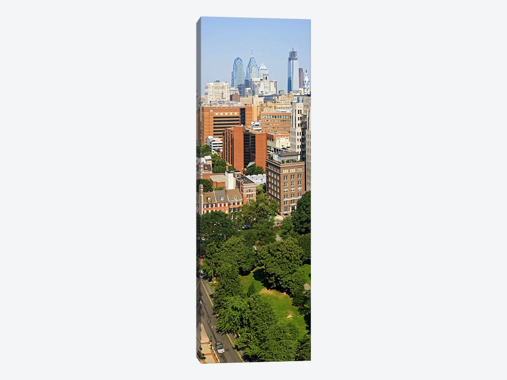 Skyscrapers in a city, Washington Square, Philadelphia, Philadelphia County, Pennsylvania, USA by Panoramic Images 1-piece Canvas Artwork