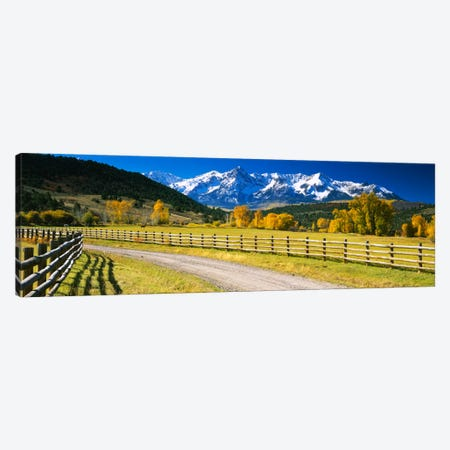 Countryside Landscape, Colorado, USA Canvas Print #PIM680} by Panoramic Images Canvas Art