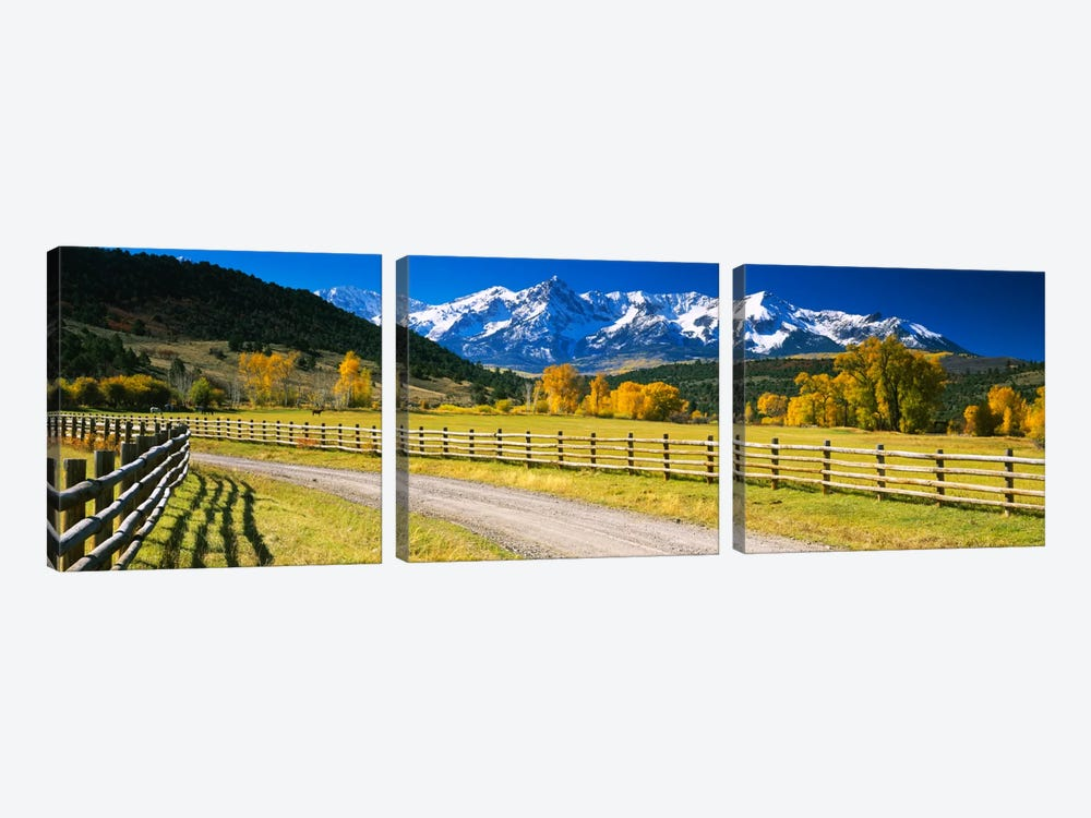 Countryside Landscape, Colorado, USA by Panoramic Images 3-piece Canvas Art