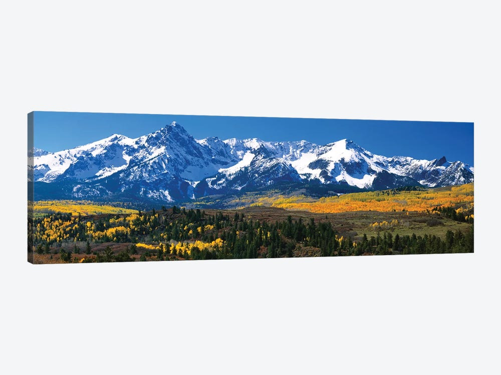 Snow-Covered Sneffels Range, Colorado, USA by Panoramic Images 1-piece Canvas Art Print