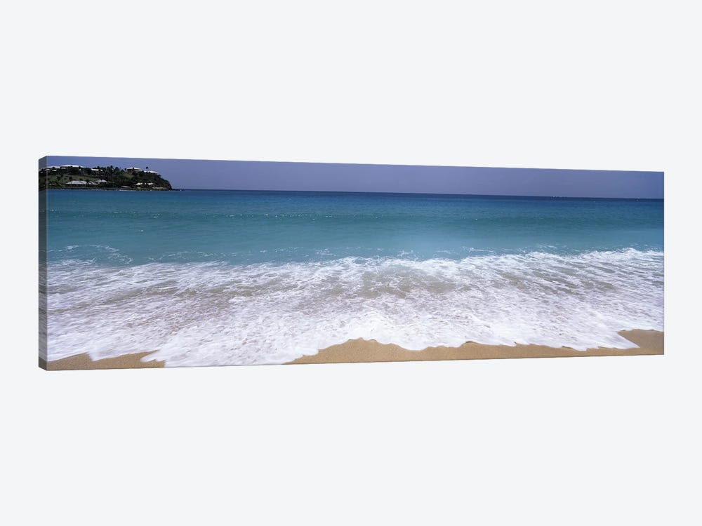 Bubbling Surf On A Beach, Antigua and Barbuda by Panoramic Images 1-piece Canvas Art