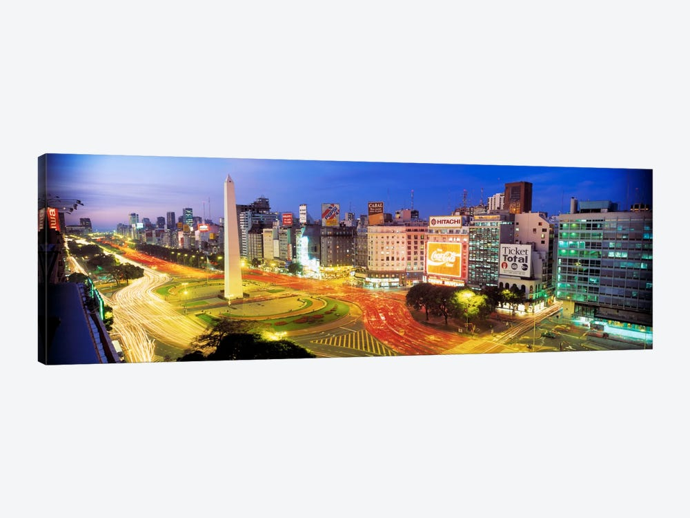 Obelisk Of Buenos Aires, Plaza de la Republica, Buenos Aires, Argentina by Panoramic Images 1-piece Art Print