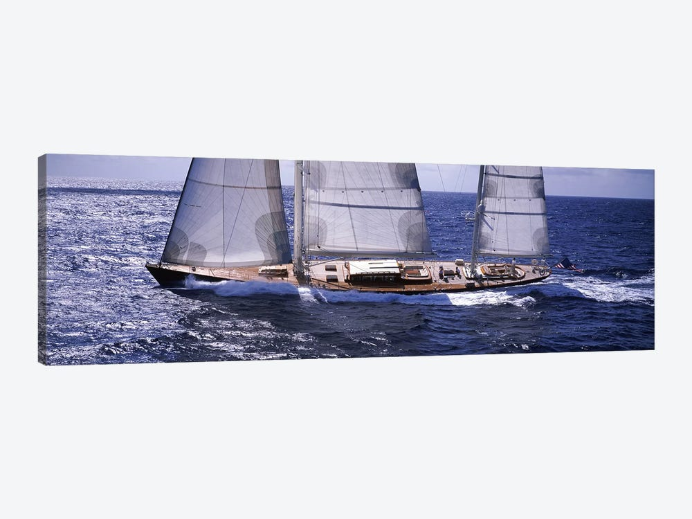 A Yacht Out For A Sail by Panoramic Images 1-piece Canvas Wall Art