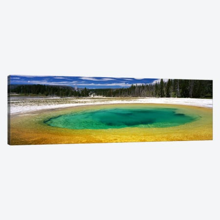 Beauty Pool, Upper Geyser Basin, Yellowstone National Park, Wyoming, USA Canvas Print #PIM689} by Panoramic Images Canvas Art