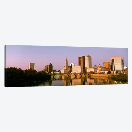 Scioto River Columbus OH Canvas Print #PIM68} by Panoramic Images Canvas Artwork