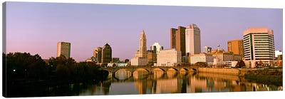 Scioto River Columbus OH Canvas Art Print