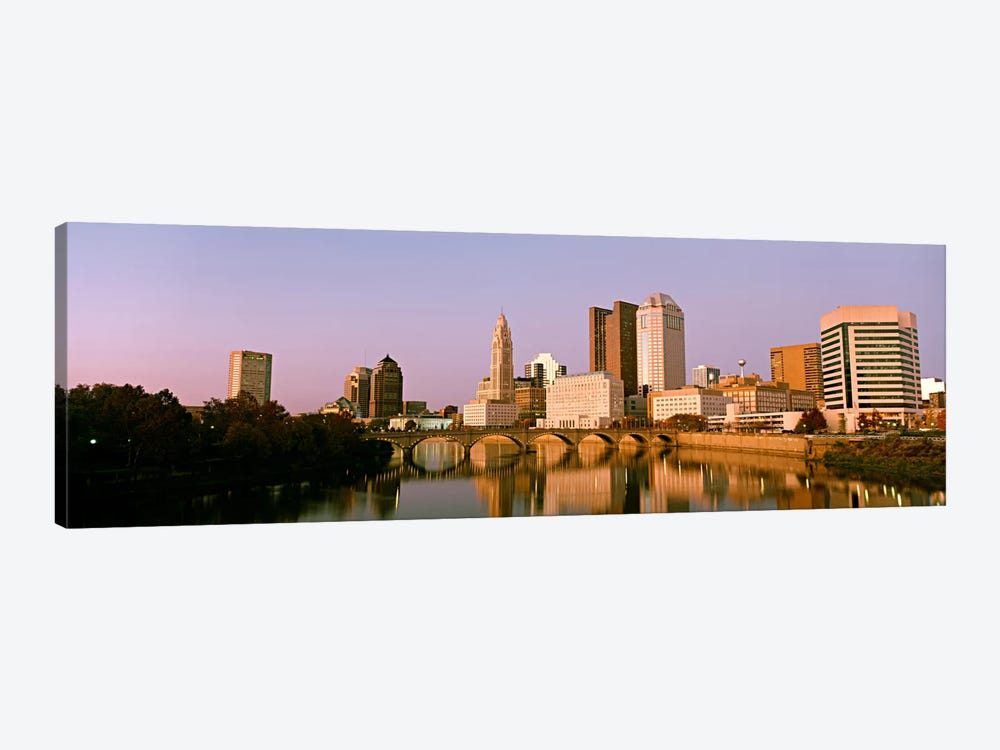 Scioto River Columbus OH by Panoramic Images 1-piece Canvas Artwork