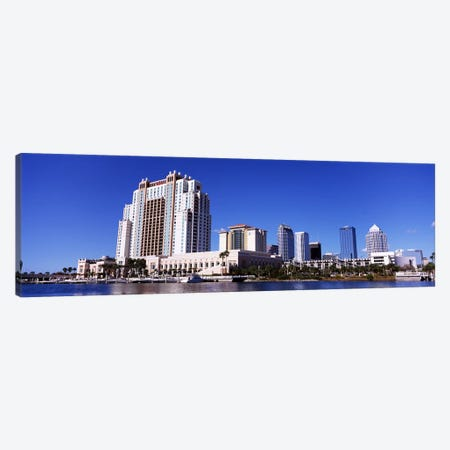 Skyscrapers at the waterfront, Tampa, Hillsborough County, Florida, USA Canvas Print #PIM6909} by Panoramic Images Art Print