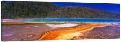 Grand Prismatic SpringYellowstone National Park, Wyoming, USA Canvas Art Print