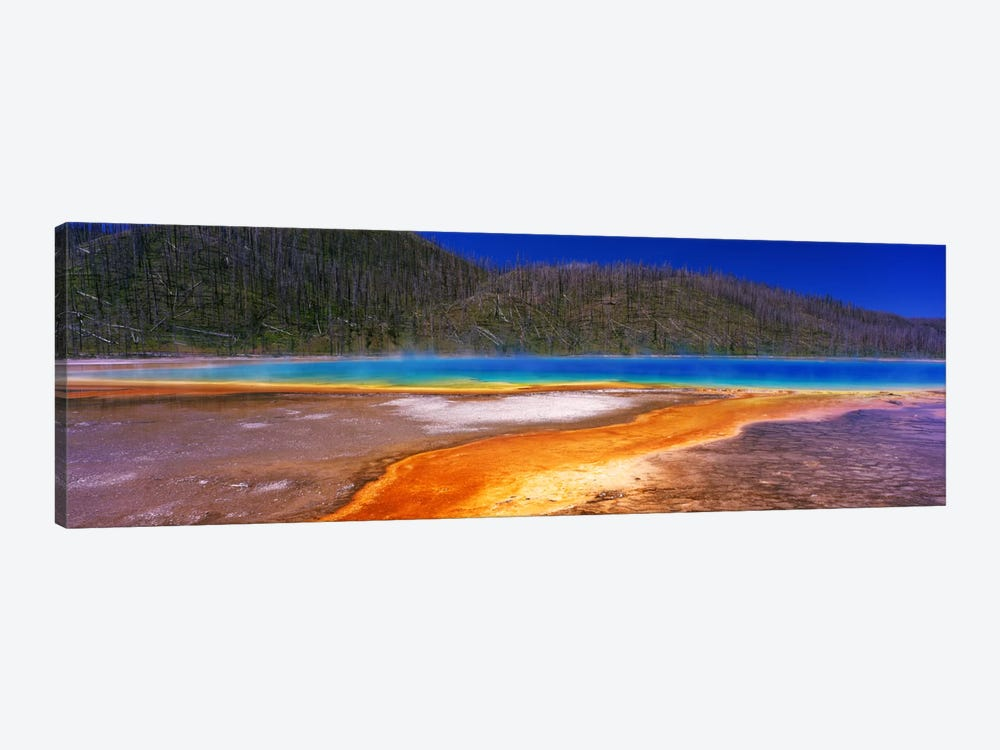 Grand Prismatic SpringYellowstone National Park, Wyoming, USA 1-piece Canvas Print