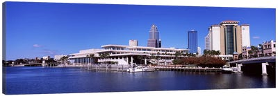 Skyscrapers at the waterfront, Tampa, Florida, USA Canvas Print #PIM6911