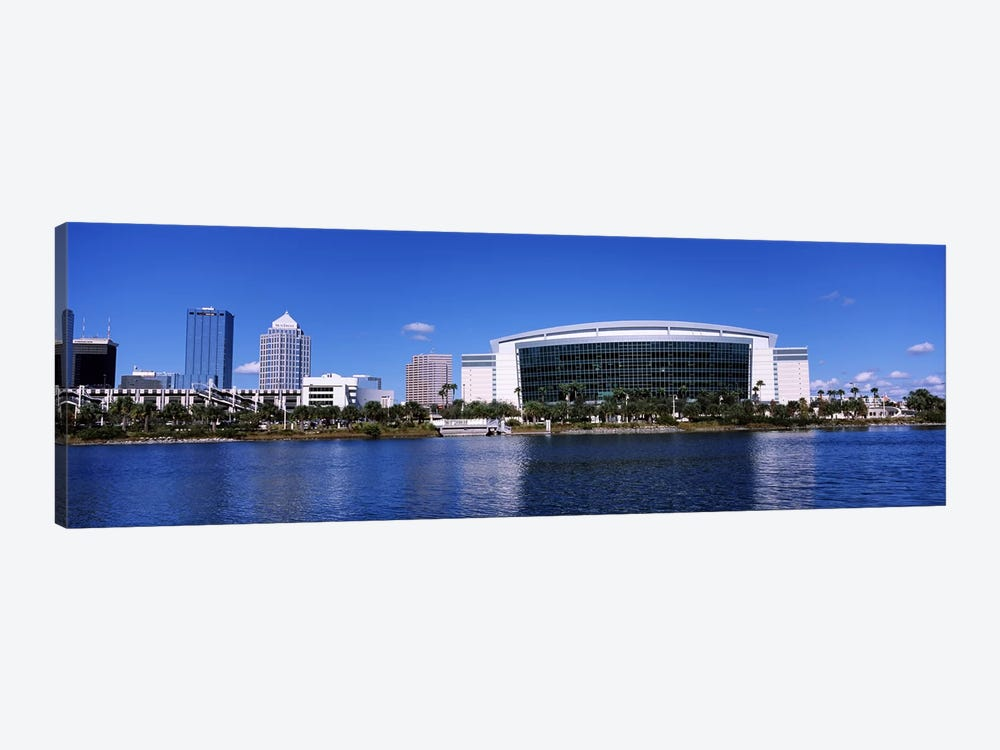 Buildings at the waterfront, St. Pete Times Forum, Tampa, Florida, USA by Panoramic Images 1-piece Canvas Print