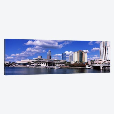 Buildings at the coast, Tampa, Hillsborough County, Florida, USA Canvas Print #PIM6913} by Panoramic Images Canvas Artwork