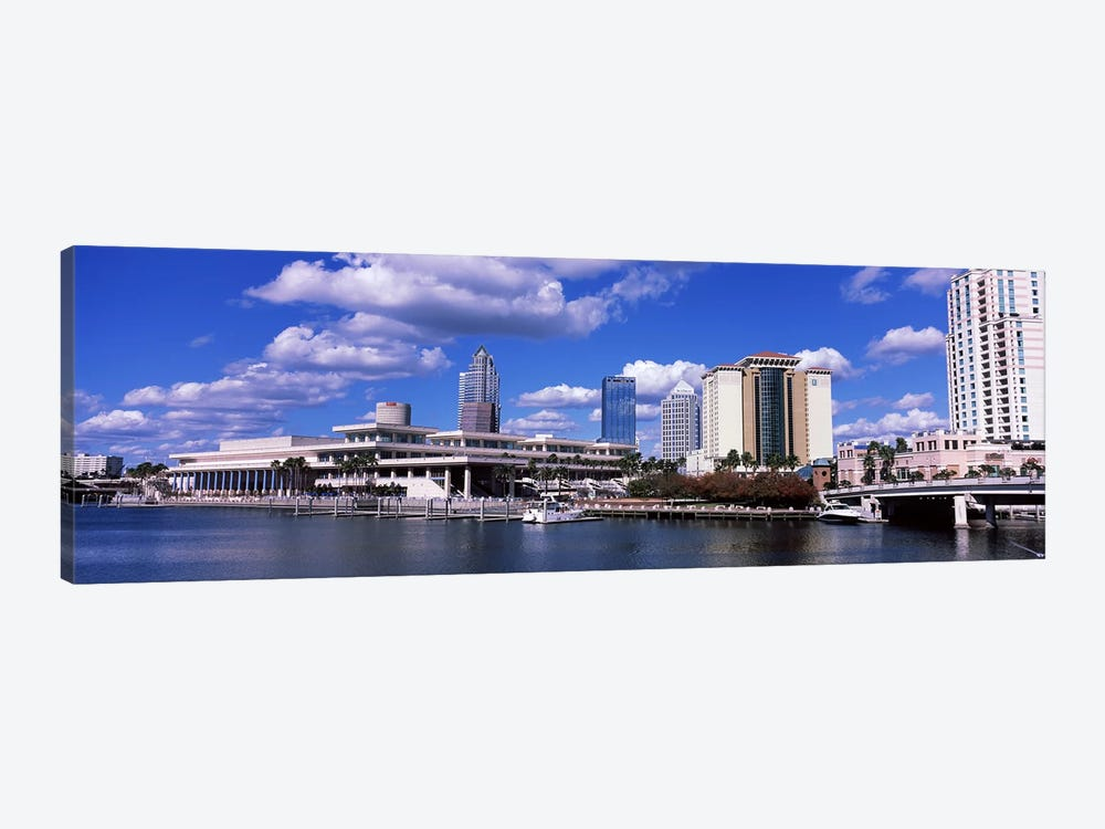 Buildings at the coast, Tampa, Hillsborough County, Florida, USA by Panoramic Images 1-piece Canvas Artwork