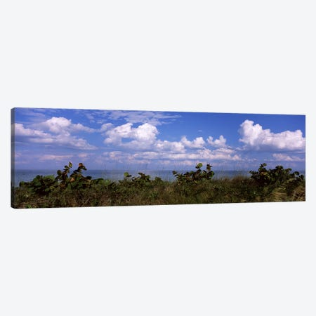 Clouds over the sea, Tampa Bay, Gulf Of Mexico, Anna Maria Island, Manatee County, Florida, USA Canvas Print #PIM6914} by Panoramic Images Art Print