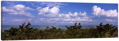 Clouds over the sea, Tampa Bay, Gulf Of Mexico, Anna Maria Island, Manatee County, Florida, USA Canvas Art Print