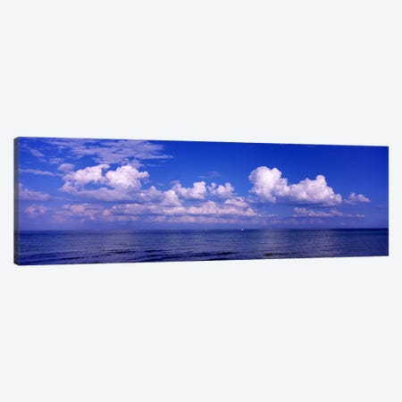 Clouds over the sea, Tampa Bay, Gulf Of Mexico, Anna Maria Island, Manatee County, Florida, USA #2 Canvas Print #PIM6915} by Panoramic Images Art Print